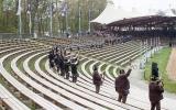 Aufstelllung in der Kaltenberger Arena
