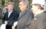 Bgm. Martin, Staatssekretär a.D. Georg Schmidt und Planer Lorenz Grünwald
