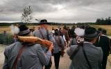 Böllern zur Standarteneinführung des Riesgaues in Forheim