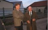 Bürgermeister Martin mit Albert Weber