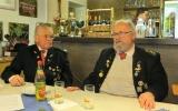 Ehrenmitglied Eduard Schober und Ehrenschützenmeister Milan Alesik