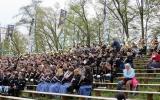 Ein Heer von Musikern spielt die Schubert-Messe