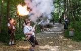 Eröffnungssalut beim Waldfest