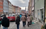 Regensburg vom Nordufer der Donau