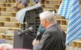 S.K.H Luitpolt Prinz von Bayern komandiert den Ehrensalut