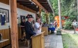 SM Ginal und Bürgermeister Martin begrüssen die Gäste