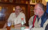 Sieger: Oliver Grahl und Franz Birkmeier beim Plausch