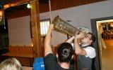 Später am Abend: Ausgetrunken ist´s