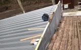 Übergang Alt - Neubau am Dach