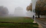 und wieder im Nebel
